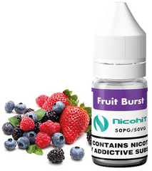 Fruit Burst E Liquid by Nicohit