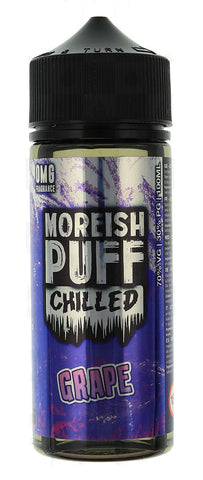 Grape Chilled E Liquid By Moreish Puff