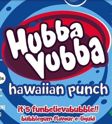 Hawaiian Punch E Liquid By Hubba Vubba 100ml Short Fill