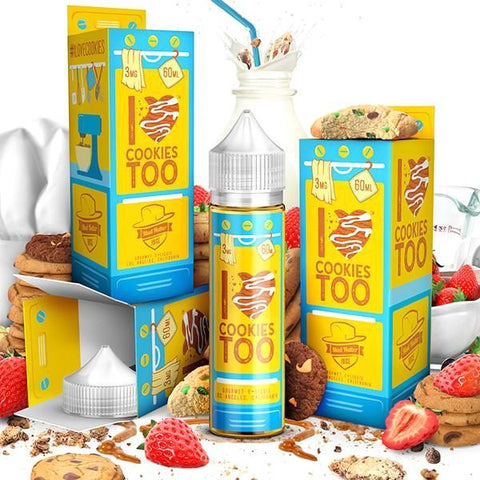 I Love Cookies Too E Liquid by Mad Hatter Juice