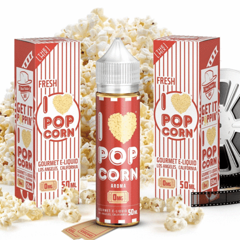 I Love Popcorn E Liquid by Mad Hatter Juice
