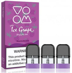 Ice Grape Voom Pod E Liquid Replacement