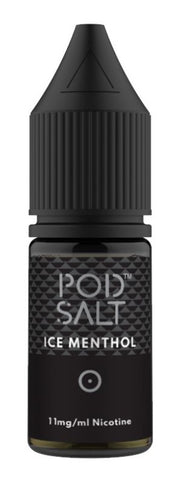 Ice Menthol Nicotine Salt E Liquid by Pod Salt