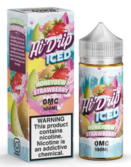 Iced Honeydew Strawberry E Liquid by Hi Drip