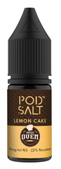 Lemon Cake Nicotine Salt E Liquid by Pod Salt