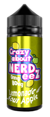 Lemonade & Sour Apple E Liquid by Crazy about Nerdeez