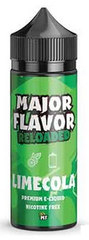 Lime Cola E Liquid by Major Flavor Short Fill