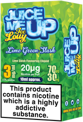 Lime Green Slush E Liquid by Juice Me Up