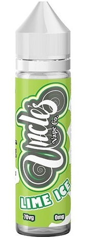 Lime Ice E Liquid by Uncles Vape Co