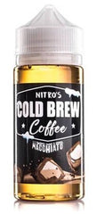 Macchiato by Nitro's Cold Brew E Liquid 100ml Short Fill