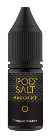Mango Ice Nicotine Salt E Liquid by Pod Salt