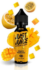 Mango & Passion Fruit E Liquid by Just Juice