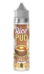 Maple Syrup Rice Pudding E Liquid by Rice Pud