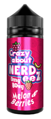 Melon & Berries E Liquid by Crazy about Nerdeez