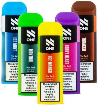 N One Disposable Pod Nic Salts £3.99