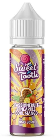 Passionfruit Pineapple Cool Mango E Liquid by Sweet Tooth