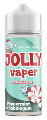 Peppermint Bubblegum E Liquid by Jolly Vaper