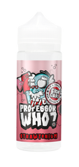 Strawtonium E Liquid by Professor Who