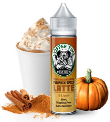 Pumpkin Spice Latte E Liquid by Coffee Time Fat Panda