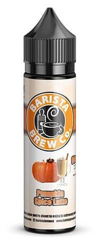 Pumpkin Spiced Latte E Liquid by Barista Brew Co
