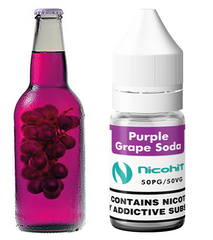 Purple Grape Soda E-Liquid by Nicohit