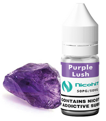 Purple Lush E-Liquid by Nicohit