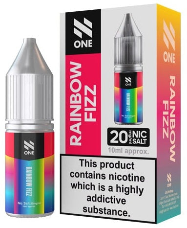 Rainbow Fizz Nic Salt E Liquid By N One