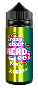 Rainbow E Liquid by Crazy about Nerdeez