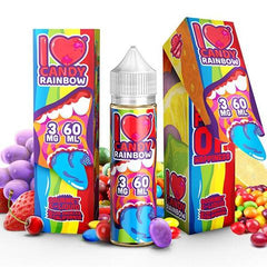 I Love Candy Rainbow E Liquid by Mad Hatter Juice