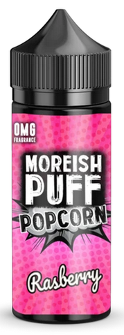 Raspberry Popcorn E Liquid By Moreish Puff