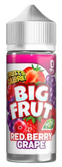 Red Berry Grape E Liquid By Big Frut
