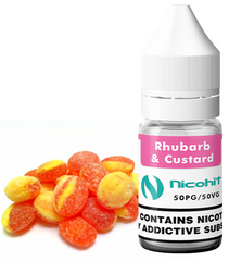 Rhubard & Custard E-Liquid by Nicohit