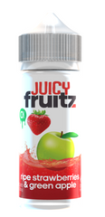 Ripe Strawberries & Green Apple E Liquid by Juicy Fruitz