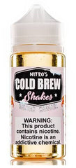 Salted Caramel E Liquid by Nitro's Cold Brew Shakes 100ml Short Fill