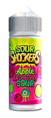 Apple Raspberry Sour E Liquid by Sour Shockers