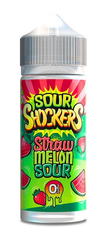 Strawberry Melon Sour E Liquid by Sour Shockers