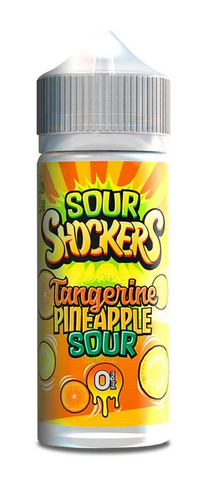 Tangerine Pineapple Sour E Liquid by Sour Shockers