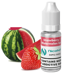 Strawberry Watermelon Ice E Liquid by Nicohit