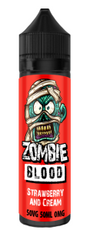 Strawberry Cream E Liquid by Zombie Blood