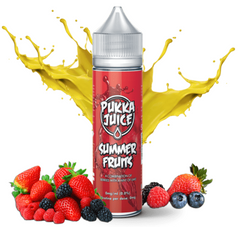 Summer Fruits E Liquid by Pukka Juice