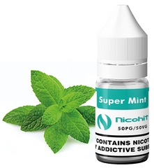Super Mint E Liquid by Nicohit