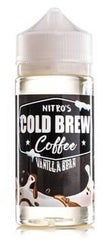 Vanilla Bean by Nitro's Cold Brew E Liquid 100ml Short Fill