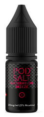 Watermelon Breeze Salt E Liquid by Pod Salt