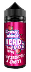 Watermelon & Cherry E Liquid by Crazy about Nerdeez