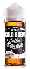 White Chocolate Mocha by Nitro's Cold Brew E Liquid 100ml Short Fill