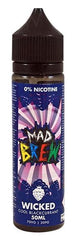 Wicked Cool Blackcurrant E Liquid by Mad Brew