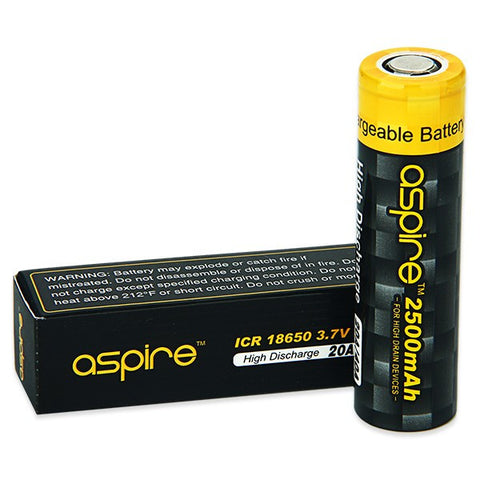 Aspire 18650 INR 2600mAh 3.7V Battery