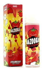 Strawberry Sour Straws by Bazooka