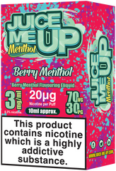 Berry Menthol E Liquid by Juice Me Up