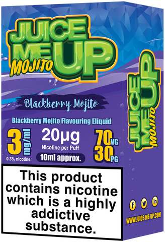 Blackberry Mojito E Liquid by Juice Me Up